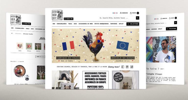 Boutique en ligne Laissez Lucie Faire