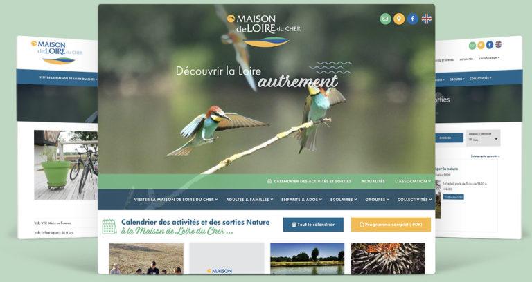 Site Maison de Loire du Cher