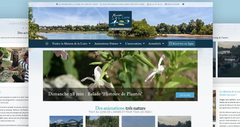 Site Maison de la Loire du Loir-et-Cher
