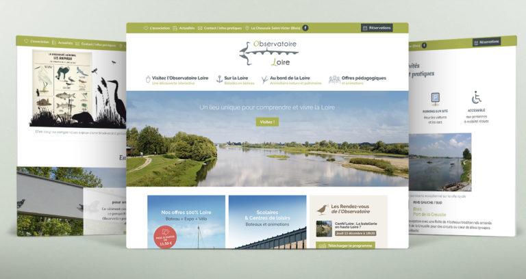Site web Observatoire Loire